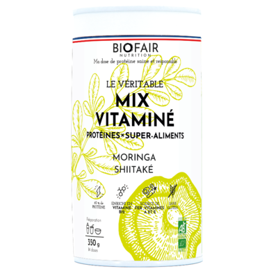 Organic mix protein powder - Vitamins
