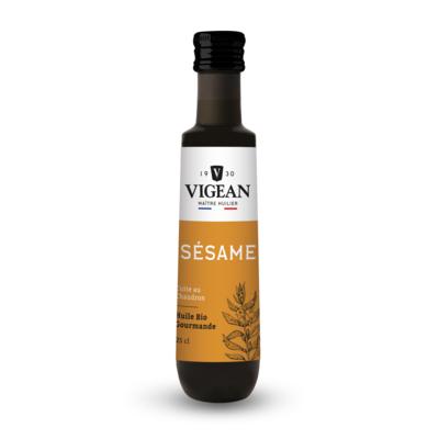 Organic virgin toasted sesame oil 250 ml