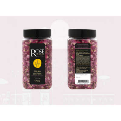 Dried rose petals from Damas