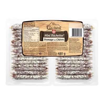 Mini bûchettes with goat cheese Galibier 480g