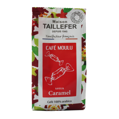 Caramel flavoured coffee 125g Maison Taillefer