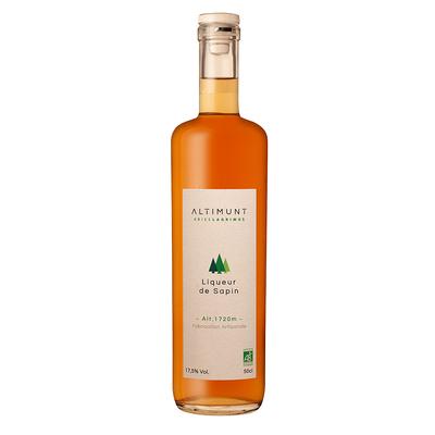 Organic fir tree liquor
