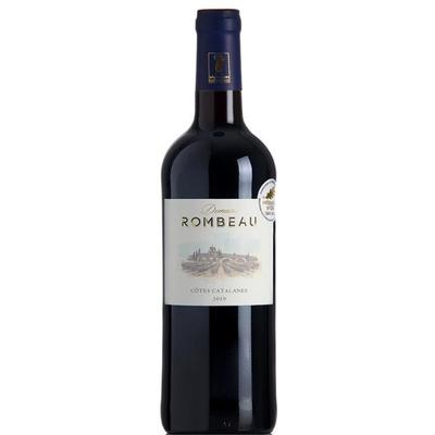 DOMAINE DE ROMBEAU, IGP Côtes Catalanes Rouge 2019 , 14,5%, 750ML