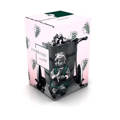 """Bag in Box 5 Litres VDF Rosé """" Y a qui Com """""""