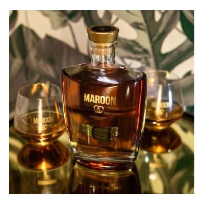 Caribbean Spice 70cL 42 - Maroon - Bois Bandé Spice