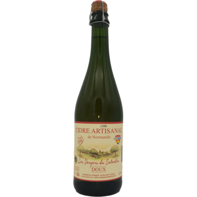 French Sweet Cider Les Vergers du Cotentin 75 cl