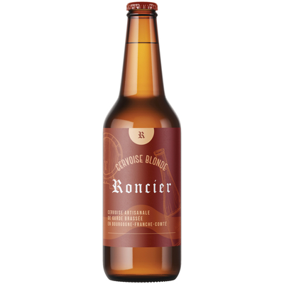 Craft beer Cervoise blonde Roncier