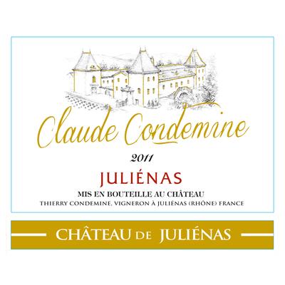 Château de Juliénas Cuvée Claude Condemine 2014