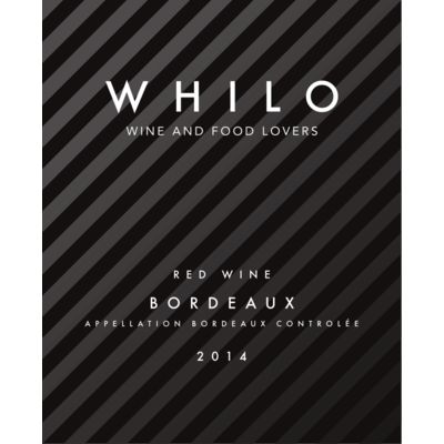 WHILO AOC red wine Bordeaux