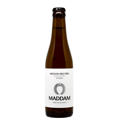 Bourgogne - Bière Blanche artisanale MADDAM Chablis