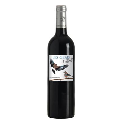 LES GEAIS ABOURIOU - dry red wine