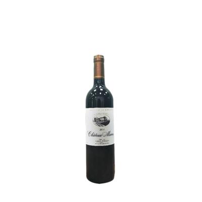 Château MANOS red, Millésime 2015  Aoc Cadillac Côtes de Bordeaux