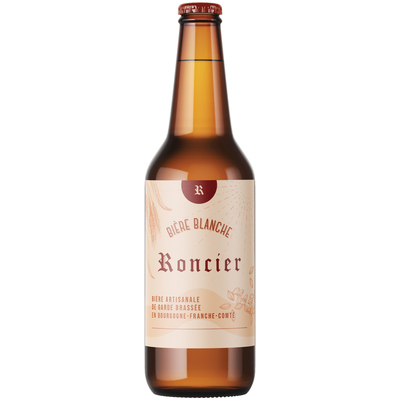 Craft white beer Roncier