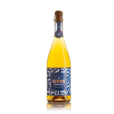 Cidre brut à la bergamote bio 75cl
