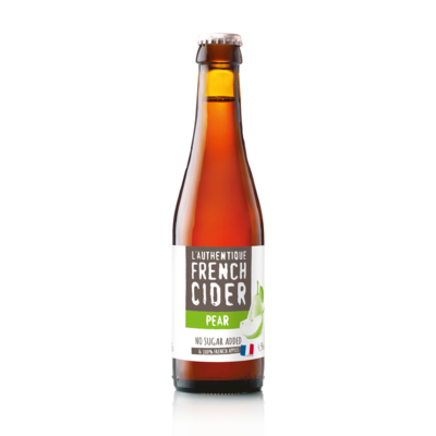 L'Authentique French Cider Pear - ABV : 4.5% vol.