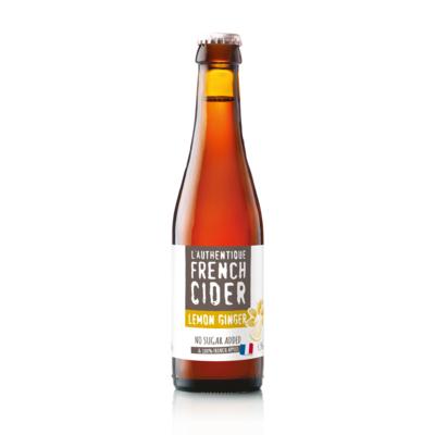 L'Authentique French Cider Ginger Lemon - ABV : 4.5% vol.