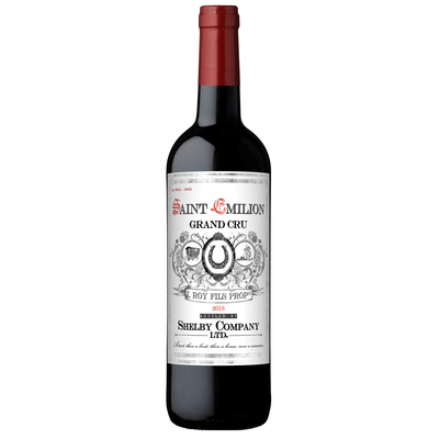 Peaky Blinders Saint Emilion Grand Cru 2018
