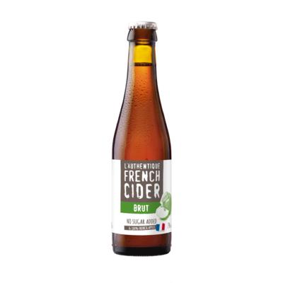 L'Authentique French Cider Brut - ABV : 4.5% vol.