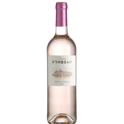 CHATEAU ROMBEAU , IGP Côtes Catalanes Rosé , 2019 , 13% , 750ML