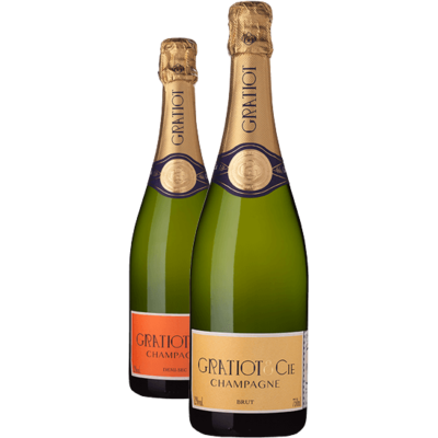 Champagne Almanach n°1 Brut et Demi Sec