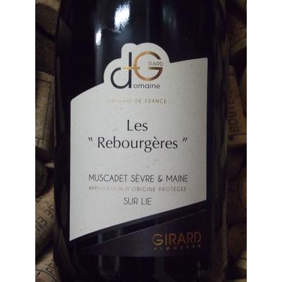 """Muscadet Sèvre et Maine sur lie """"Les Rebourgères"""""""