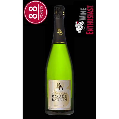 Champagne Boude Baudin - Brut de B.