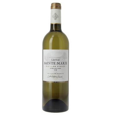 Château Sainte-Marie Vieilles Vignes Entre-Deux-Mers Millésime 2018