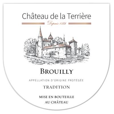 Cuvée Tradition, Brouilly AOP, Château de la Terrière