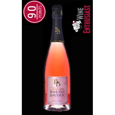 Champagne Boude Baudin - Brut Rose