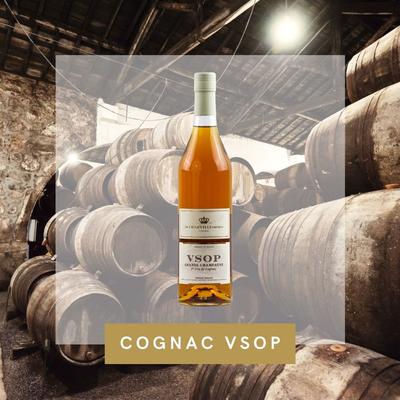 COGNAC Grande Champagne VSOP DE CHARVILLE FRERES Single Estate