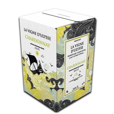 Bag in Box 5 Litres IGP Aude Chardonnay Blanc