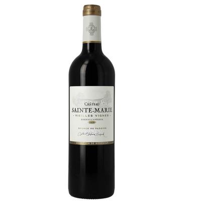 Château Sainte-Marie Vieilles Vignes Bordeaux Supérieur Millésime 2016