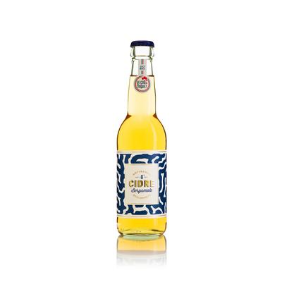 Cidre brut à la bergamote bio 33cl