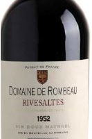 Château Rombeau, Rivesaltes Ambré Old vintage, 19%, 750ml