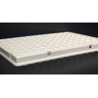96-well qPCR Plates, 100 microl, White, Semi-Skirted, Cut Corner H12 - Prix soumis à évolution