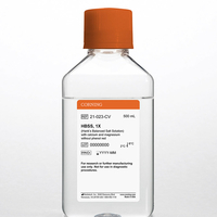 500 mL HBSS (Hank's Balanced Salt Solution), 1x with calcium and magnesium without phenol red 6 x 500 mL