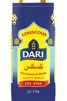 Couscous Fin Dari Sac X 5 Kg