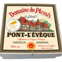 Livarot Domaine du Plessis 500g AOP, lait cru, colis de 6 pièces