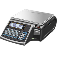 Balance poids-prix MISTRAL 525 B LCD 15/30 kg