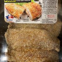 Cordon bleu de poulet facon bouchere 160g, 4 barquettes de 5 pièces, colis de 6kg