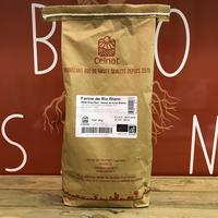 Farine De Riz Blanc Bio, le sac de 3kg