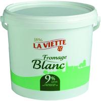 Fromage blanc VIETTE Eurial, seau de 5 litres
