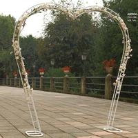 Arche Métallique Démontable En Forme De Cœur