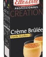 Creme Brulee vanillee Bourbon 1 Litre
