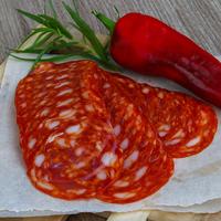 Chorizo bellota tranché 100gr,colis de 5kg
