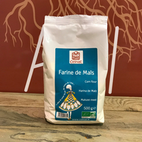 Farine De Mais Bio, le sac de 3kg