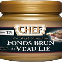 Fond Brun Veau Lie Prem Chef X 600 Gr Boite FRANCE   cat.1