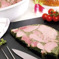 Jambon de Bourgogne persillé Label Rouge porc français saladier ±3,2kg