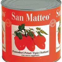 Tomates Pelees San Matteo 3.1, colis de 6 pièces