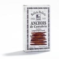 Anchois légèrement fumés, une boite de 100g